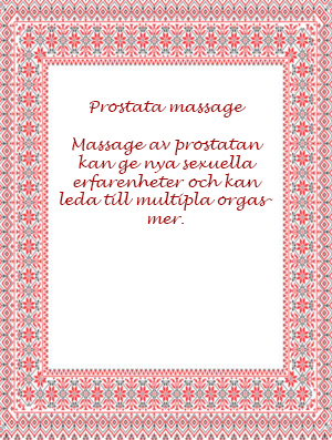 DVD Prostata massage