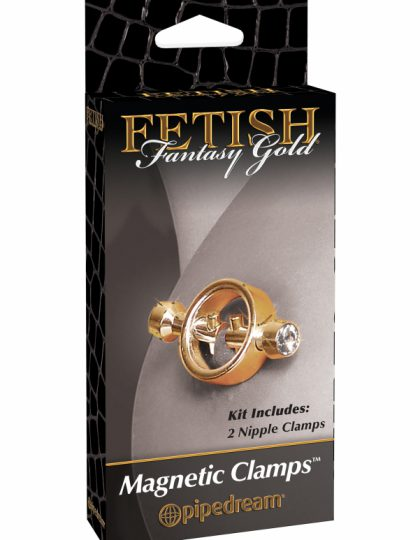 Fetish Fantasy - Gold Magnetic Clamps