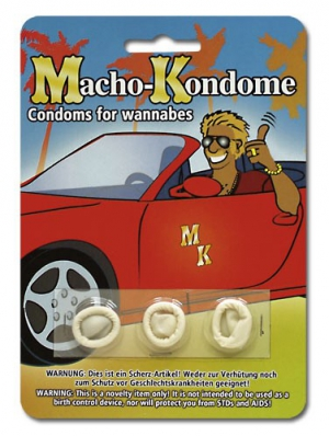 Macho mini condoms