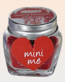 Mini candle cherry