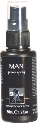 Shiatsu man power spray