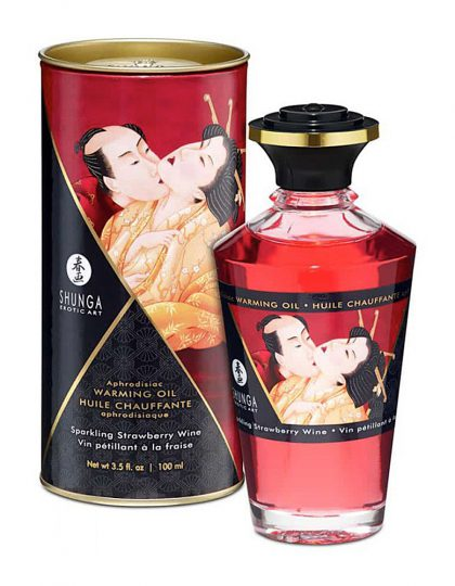 Shunga Aphrodisiac Oils Sparkling Strawberry Wine