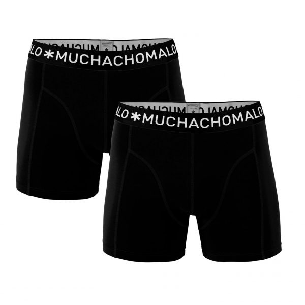 Basic Black - 2-pack Boxershorts