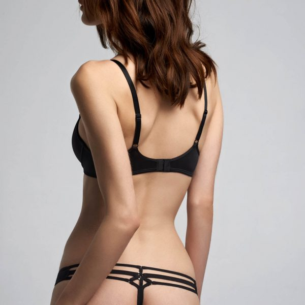 Space Odyssey Thong - Black