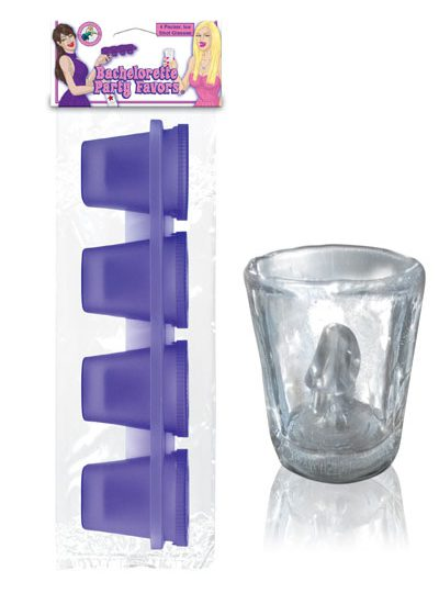 Pecker Ice Shot Glasses