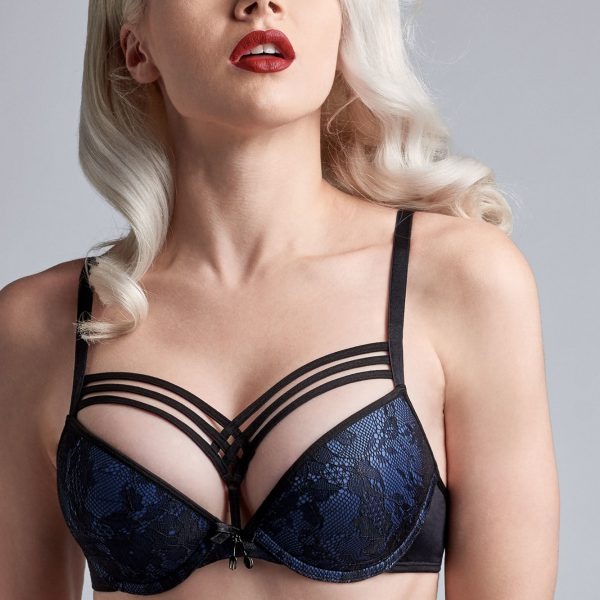 Dame De Paris Bijou Blue - Push up-bh