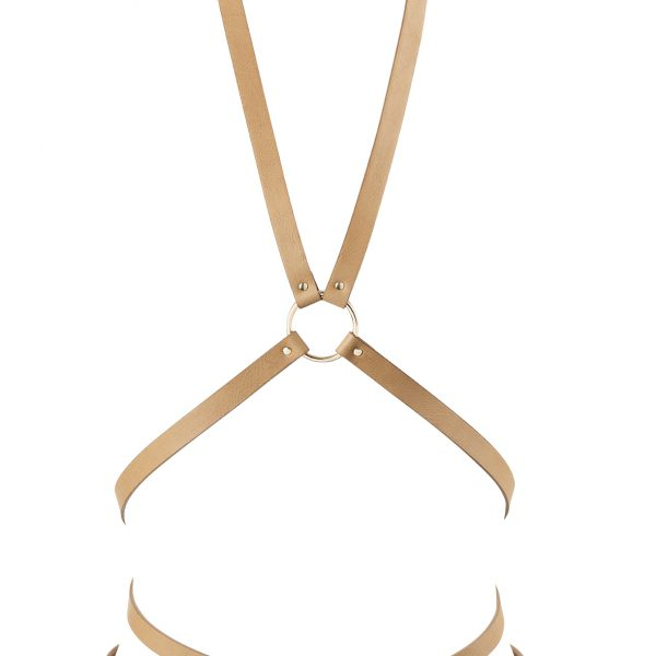 Maze Multi Way Body Harness - Brown