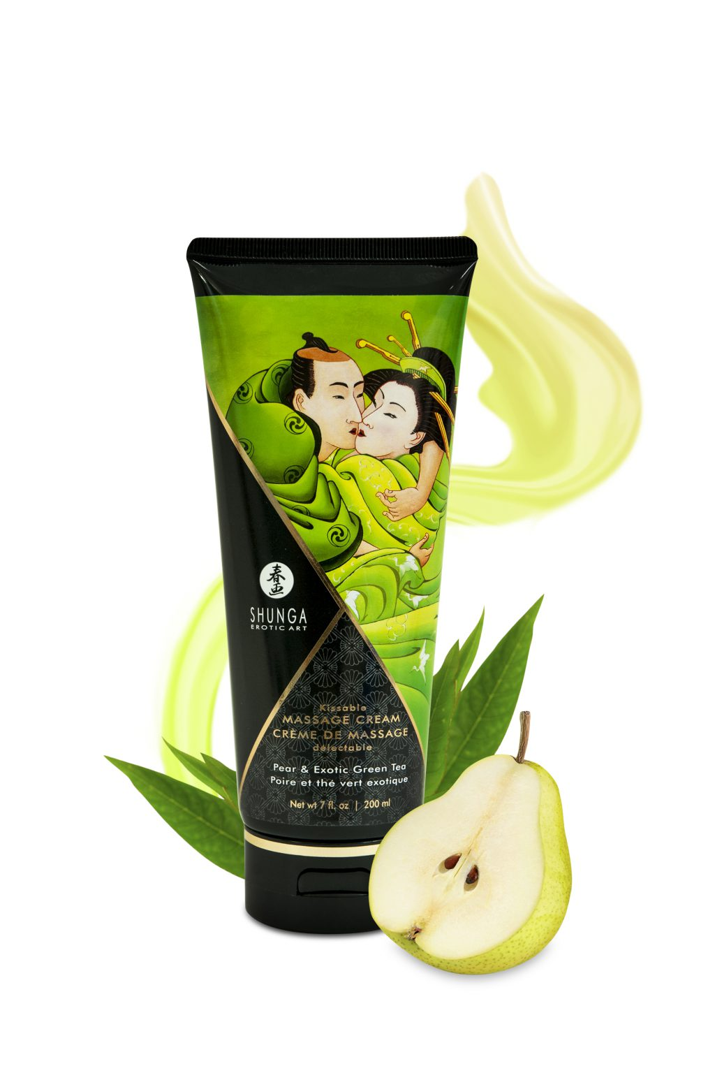 Kissable Massage Cream Pear & Green Tea