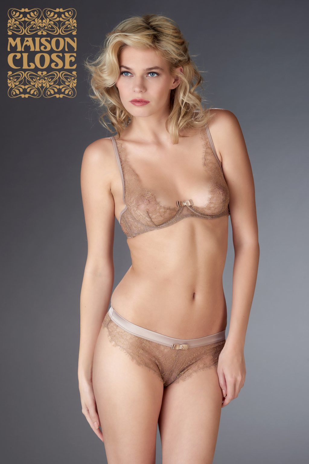 JARDIN IMPERIAL WIRE BRA SWEET CHESTNUT
