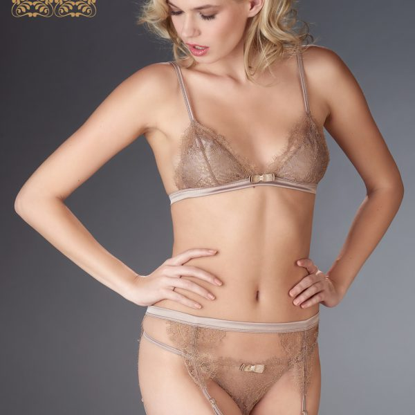 JARDIN IMPERIAL TRIANGLE BRA SWEET CHESTNUT