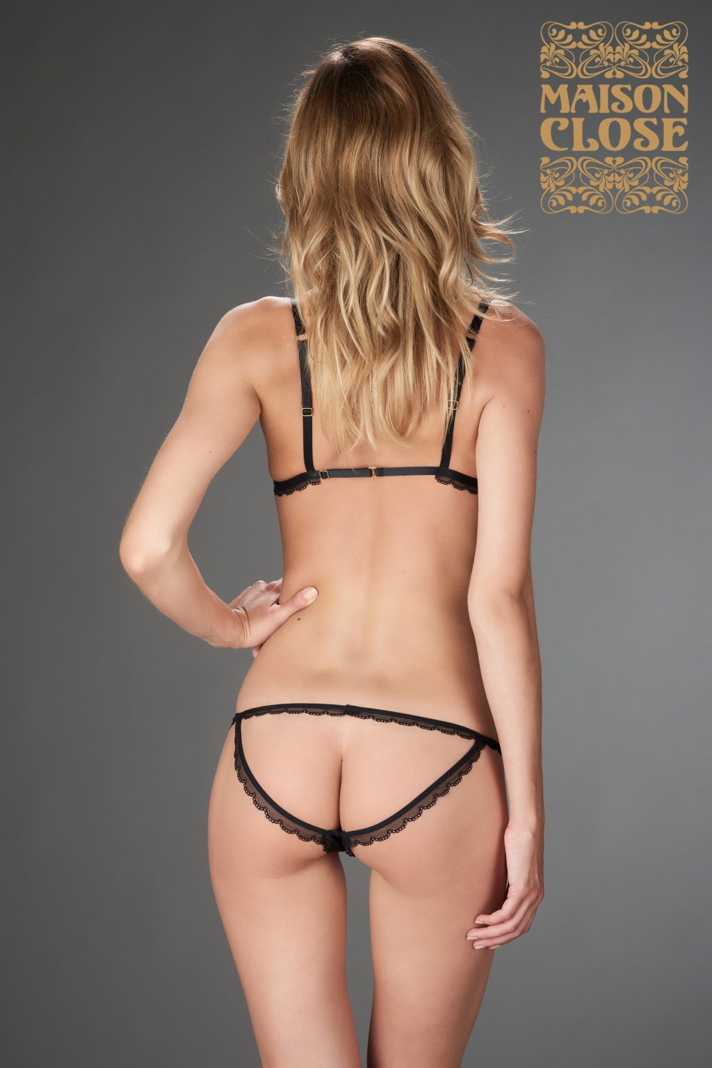 LE PETIT SECRET - DEMI NAKED PANTY - BLACK