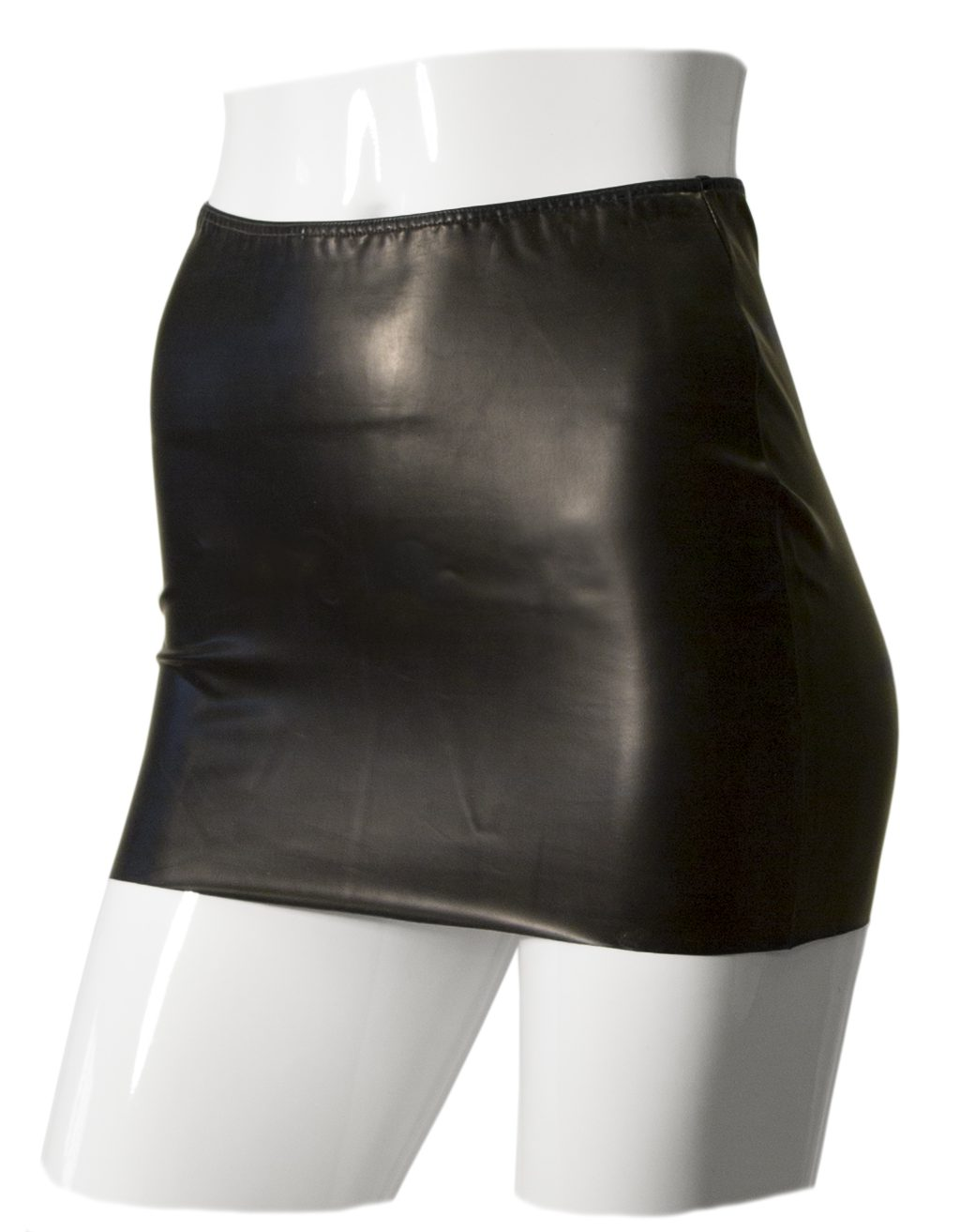 DATEX MINI SKIRT WITH CUT-OUT REAR