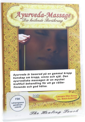 DVD Ayurveda massage