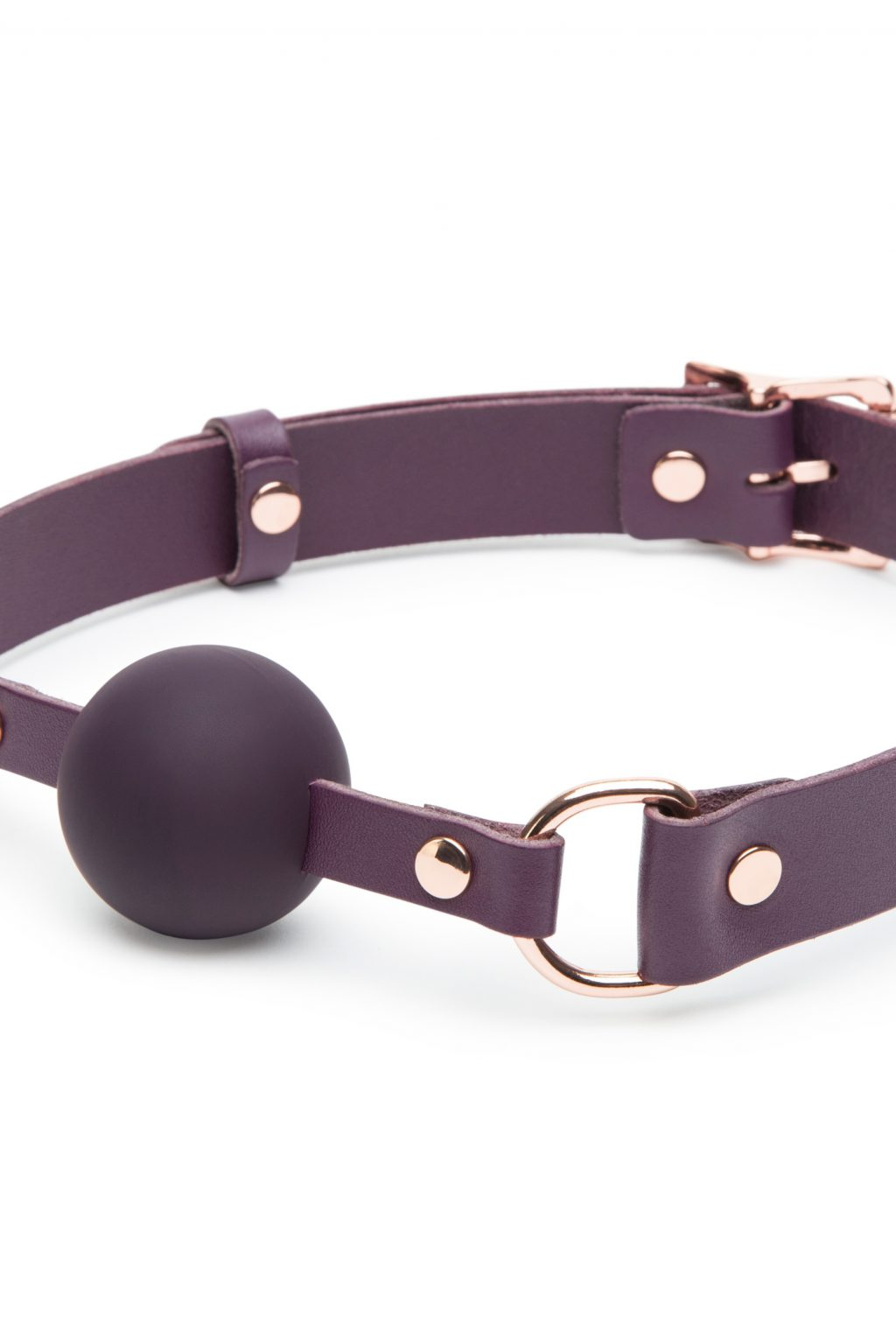 Freed Cherished Collection Leather Ball Gag