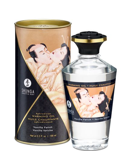 Aphrodisiac Vanilla Fetish -  Värmande Olja 100ml