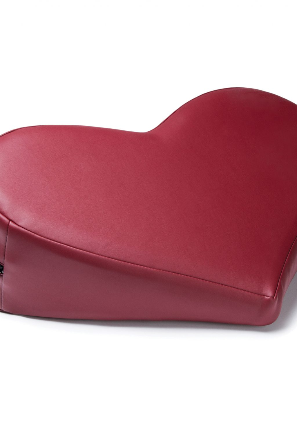 Heart Wedge Sex Pillow - Faux Leather