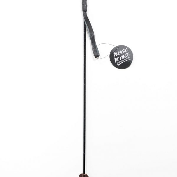 & Let it Sting - Brown Leather Riding Crop