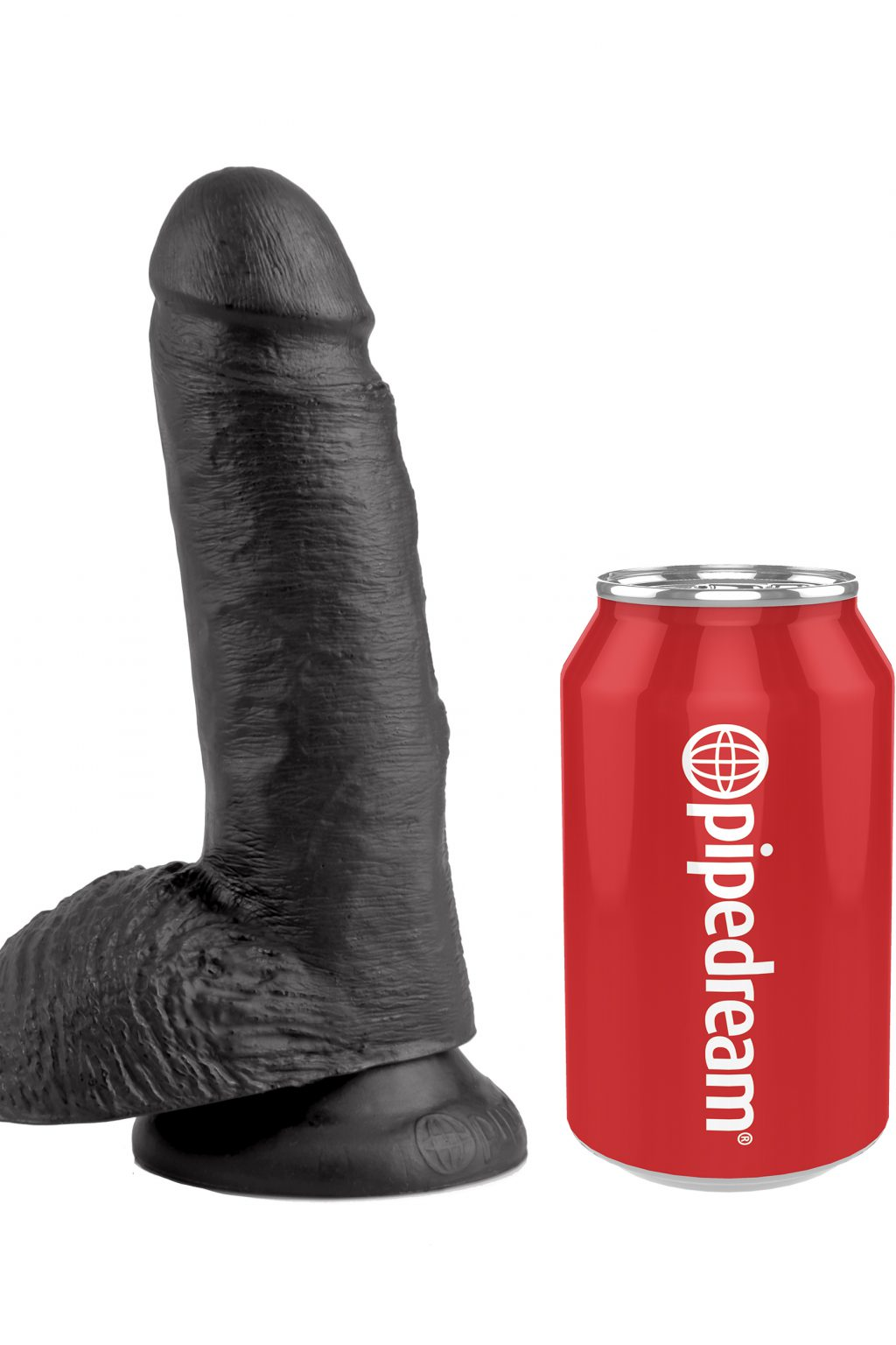 Cock with Balls 18cm - Black