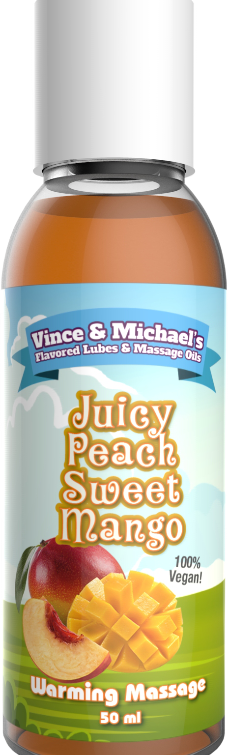 Juicy Peach Sweet Mango - Smaksatt massageolja