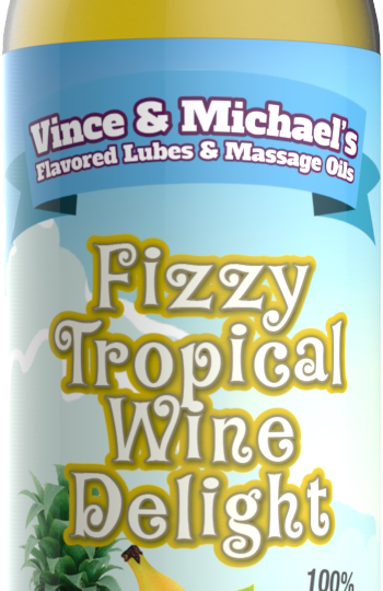 Fizzy Tropical Wine Delight - Smaksatt Massageolja