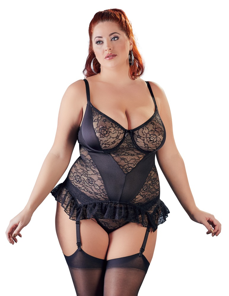 Basque With Sensual Lace