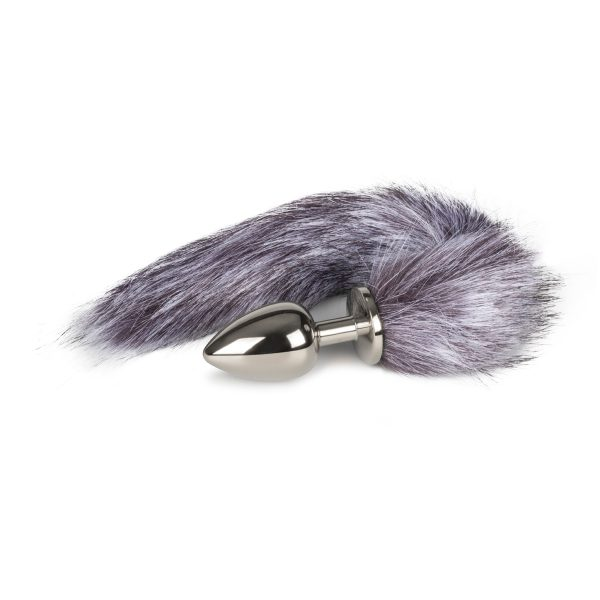Fox Tail Plug No.4 -Silver