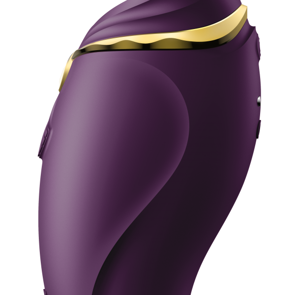 Hero Pulsewave Clitoris Massager - Purple