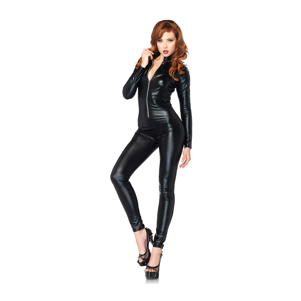 Wetlook Catsuit (Storlek: Large)