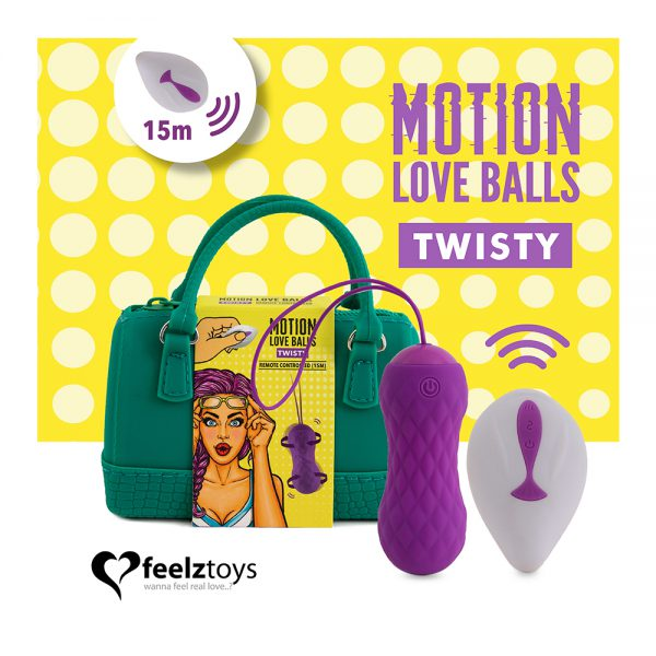 Remote Controlled Motion Balls Twisty