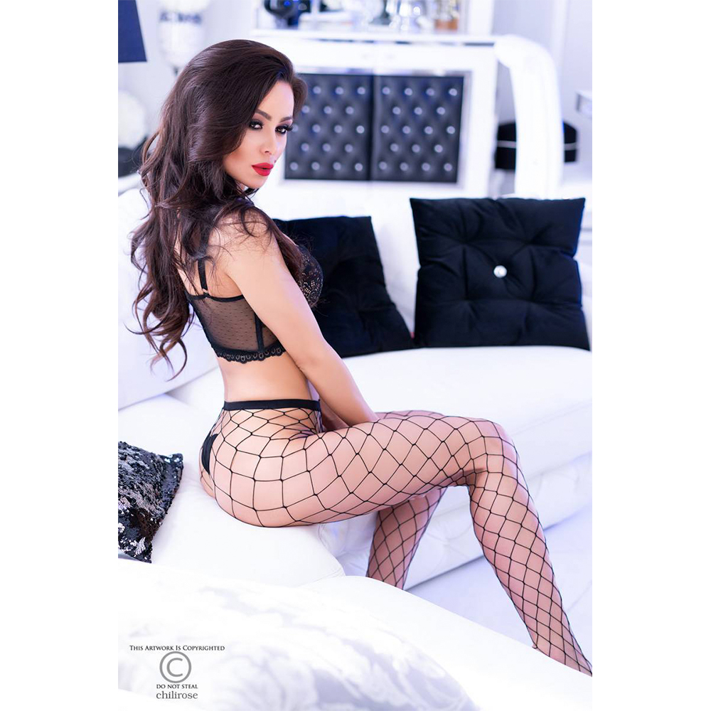 Big Hole Fishnet Pantyhouse 2 par