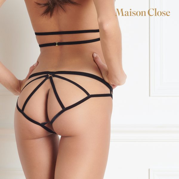 LES FETICHES - NAKED PANTY - BLACK - ONE SIZE