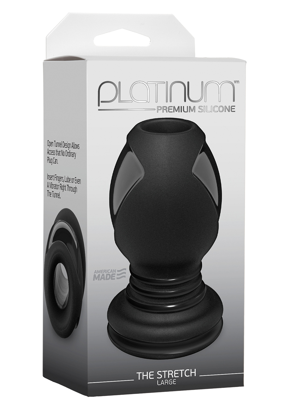 PLATINUM THE STRETCH BLACK L