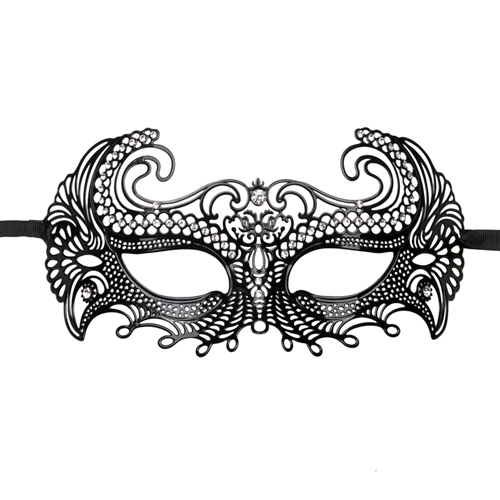 Metal Mask Black