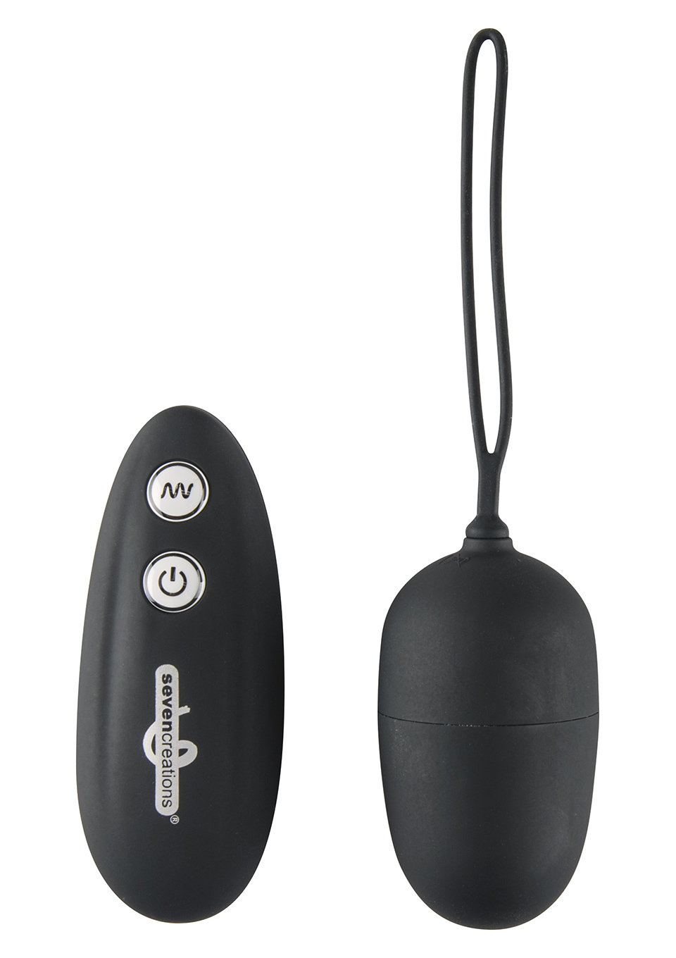 Ultra Remote Control Egg 7 function Black