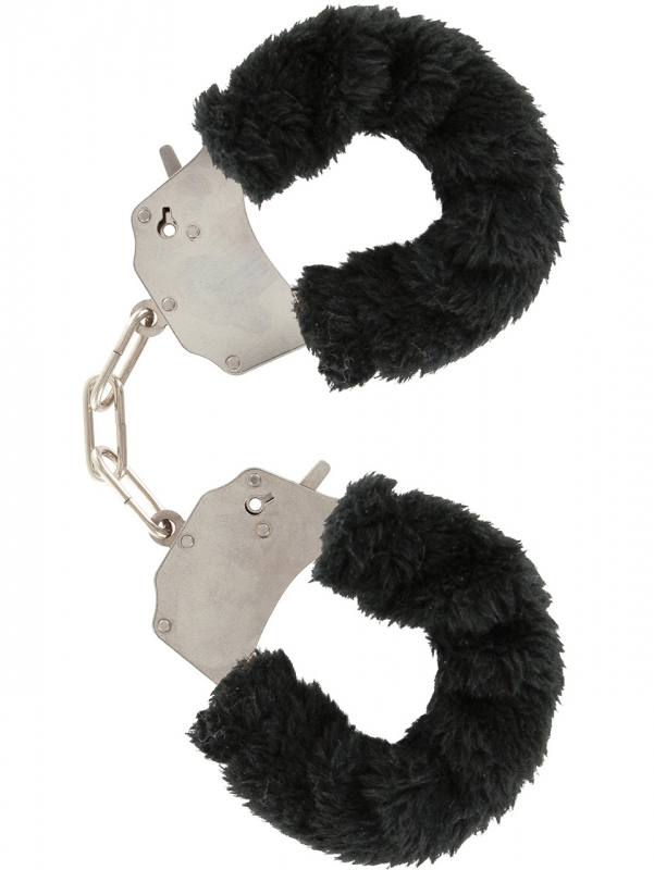 Toy Joy - Furry Fun Cuffs Plush (svart)