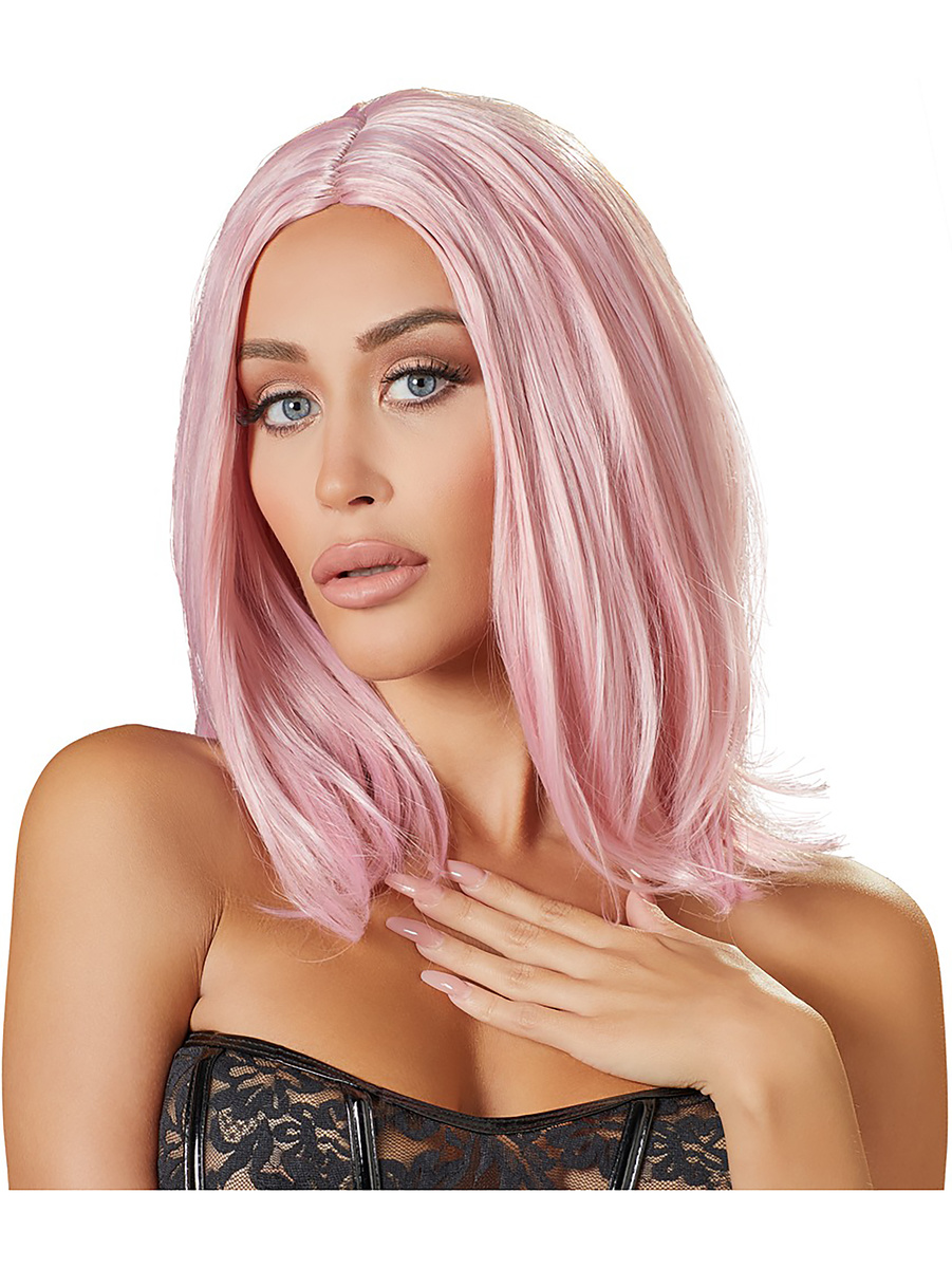 Cottelli Collection: Bob Pink Wig