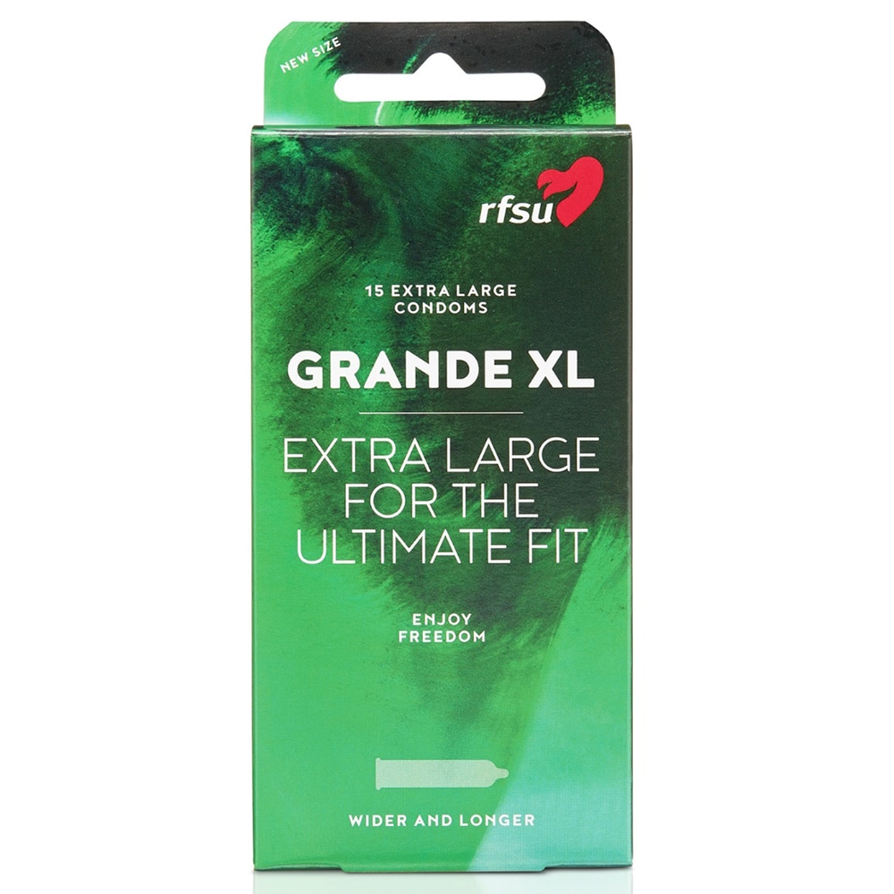 RFSU Grande XL 15 Pack
