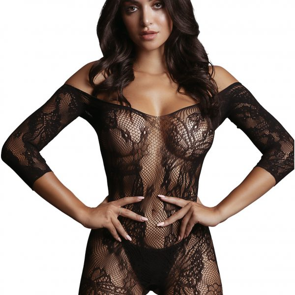 Le Désir: Bodystocking Long Sleeved and Lace