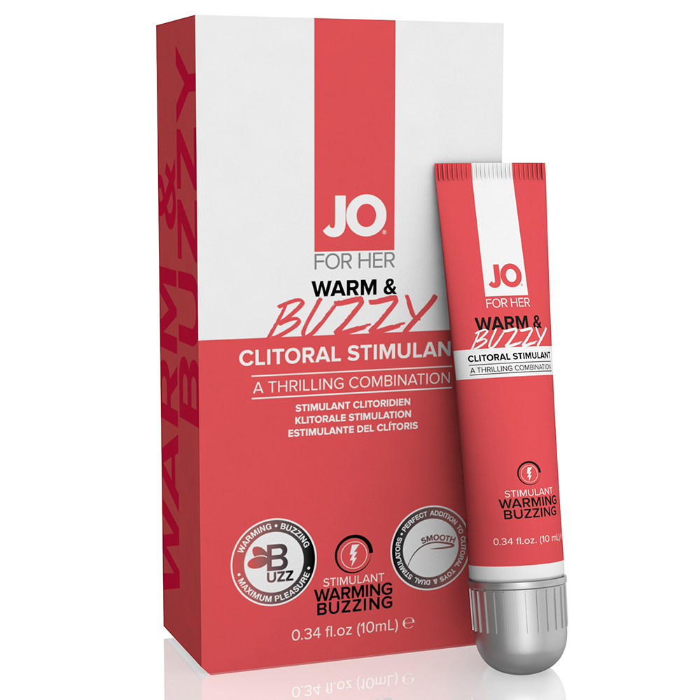 System JO Clitoral Stimulant Warm And Buzzy