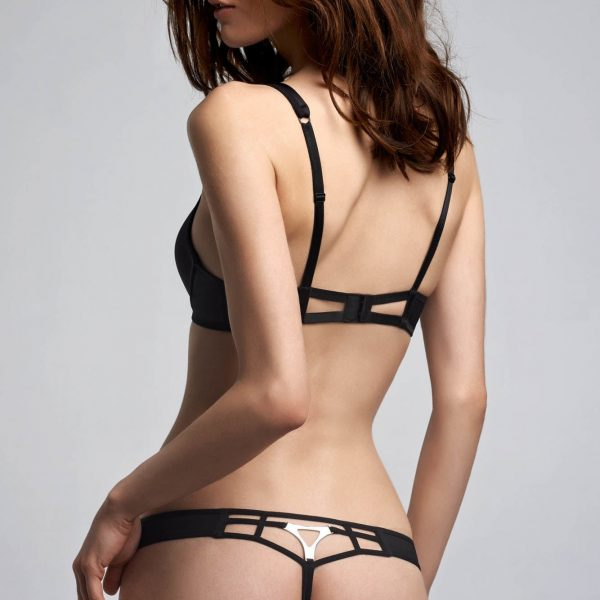 Triangle Thong - Black