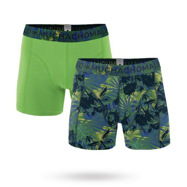 Buggin Around Print/Solid - 2-pack Boxershorts