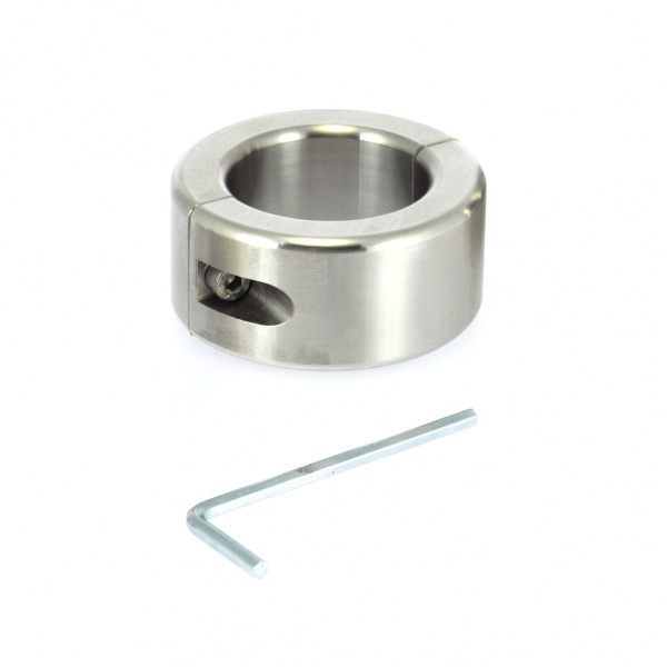 Rimba - Stainless steel ballstretcher 2.5 cm. wide. with imbustool.