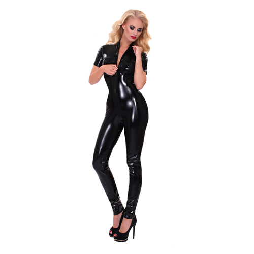 GP Datex Catsuit With Zipper On The Bust