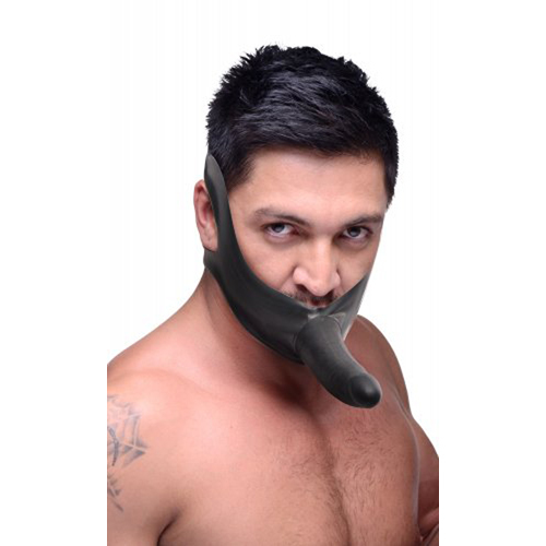Face Strap On Mouth Gag