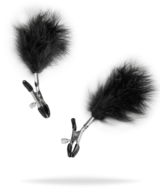 Adjustable Nipple Clamps With Feathers från .