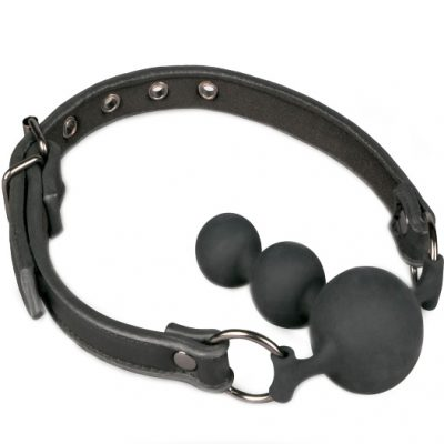 Ball Gag With Silicone Beads från .