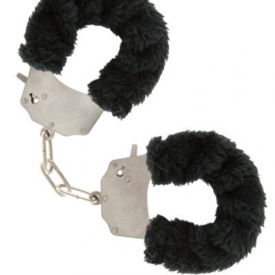 Furry Fun Cuffs Black från Toy Joy.