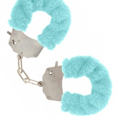 Furry Fun Cuffs Blue från Toy Joy.