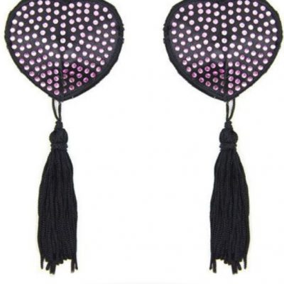 Heart Shine Nipples Tassels från Toyz4Lovers.