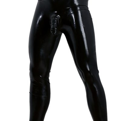 Latex Leggings med Dildo från LATE X.